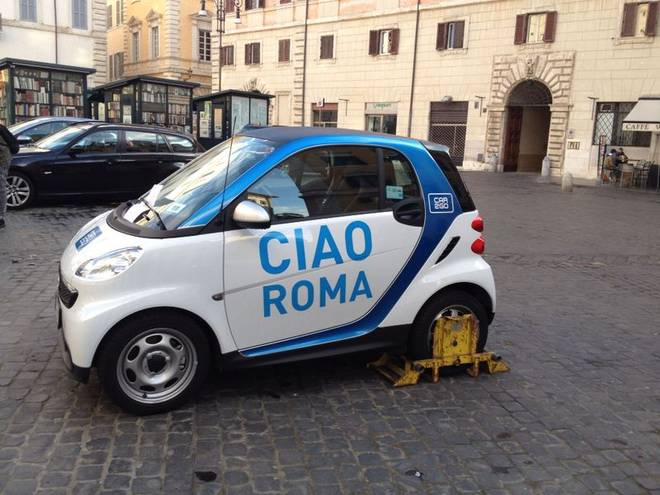 car sharing roma4