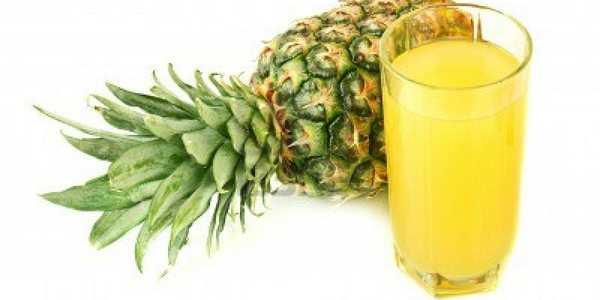 succo ananas radiografie