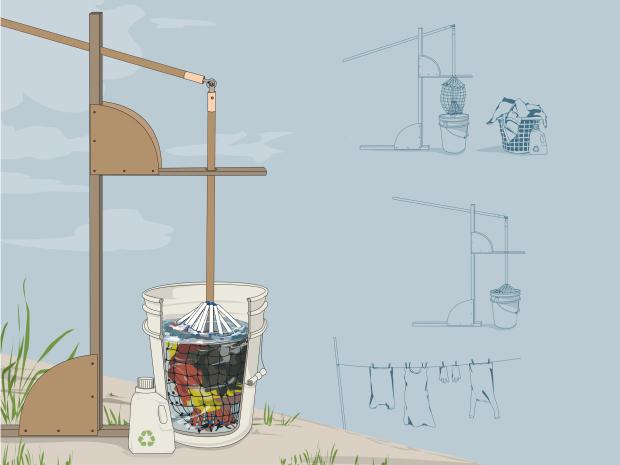 Schema Elettrico Lavatrice : 5 modi per costruire una lavatrice off grid con pochi euro greenme.it