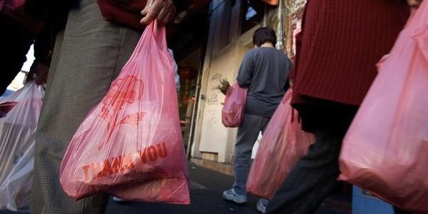 Shopping bag plastic