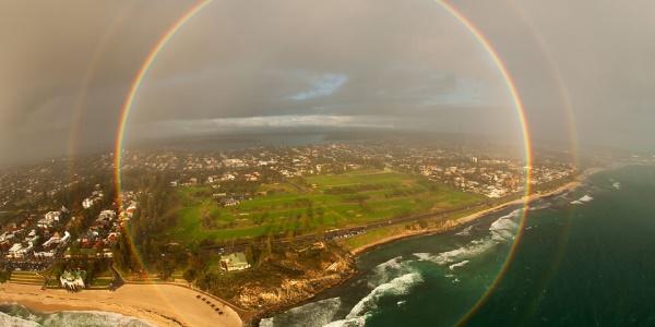 arcobaleno circolare