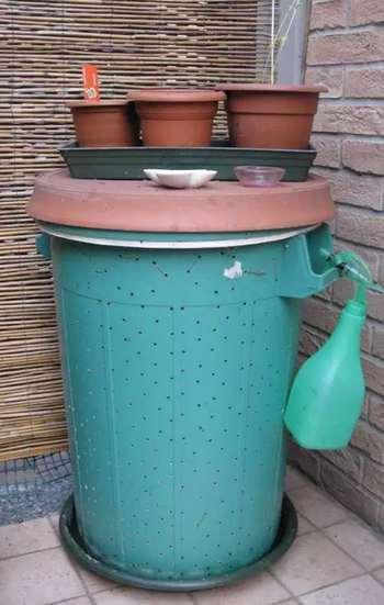 compostiera da balcone greenme kia