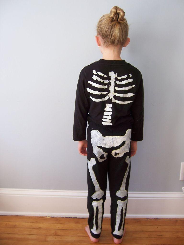 halloween scheletro