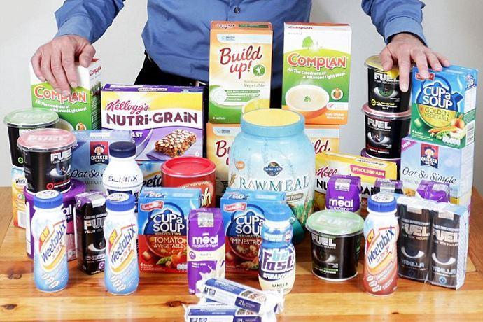 snack e prodotti sostitutivi