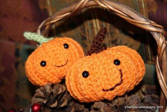 Set zucca Crochet zucche Halloween regalo Giorno ringraziamento ... | 367x550