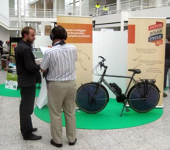 bici solare elettrica