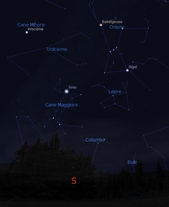 cometa natale2014