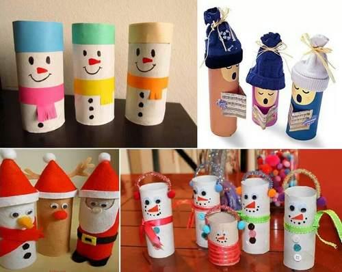 Lavoretti Di Natale Con La Carta Igienica.Decorazioni Di Natale Dai Rotoli Della Carta Igienica 10 Idee Fai Da Te Greenme