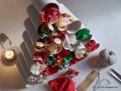 decorazioni natale 6 albero calendario