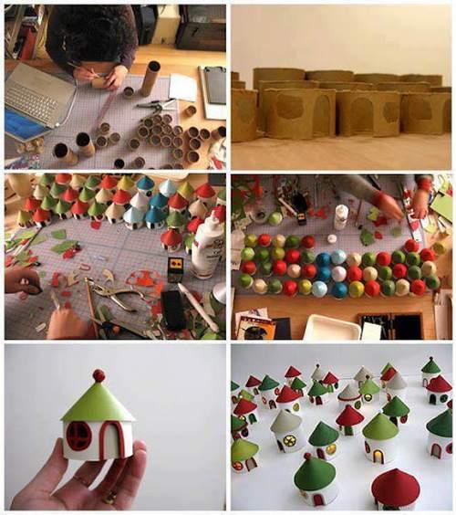 decorazioni natale 7 villaggio elfi