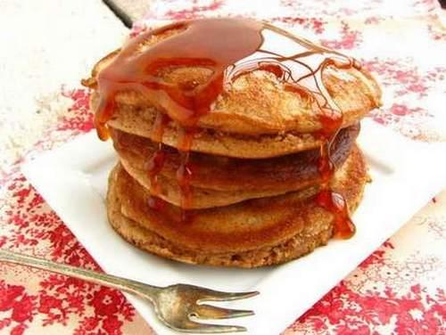 pancake farina castagne