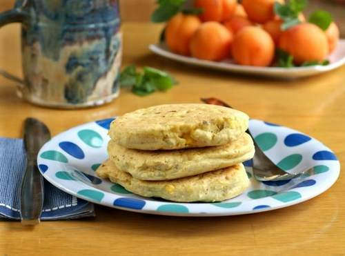 pancake farina mais
