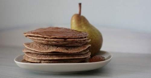 pancake integrali pere cannella