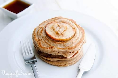 pancake mela cannella