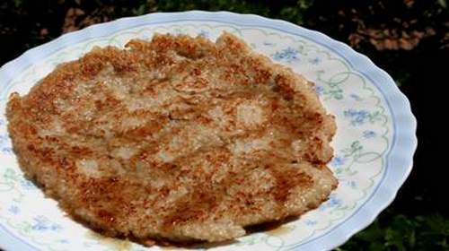 pancake riso integrale banane