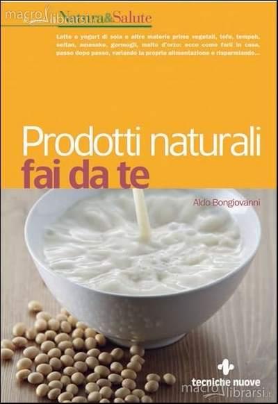 prodotti naturali fai da te libro