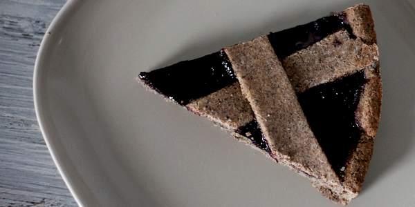 crostata vegan grano saraceno