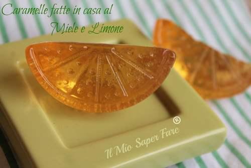 caramelle miele limone fatte in casa