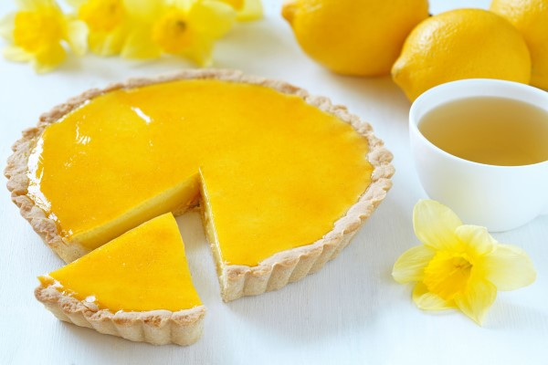 crostata vegan limone