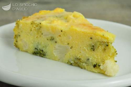 polenta vegetariana torta di polenta