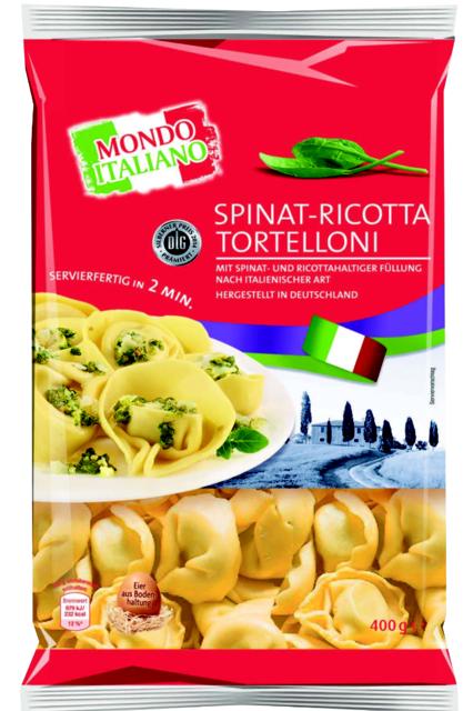 tortelloni ricotta spinaci mondo italian