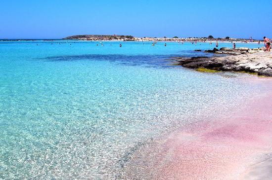 10. Elafonissi Beach