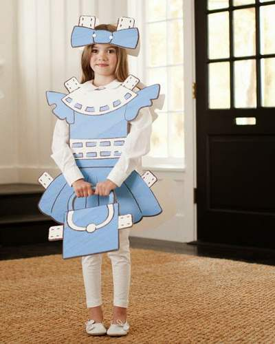 carnevale 8 bambola di carta