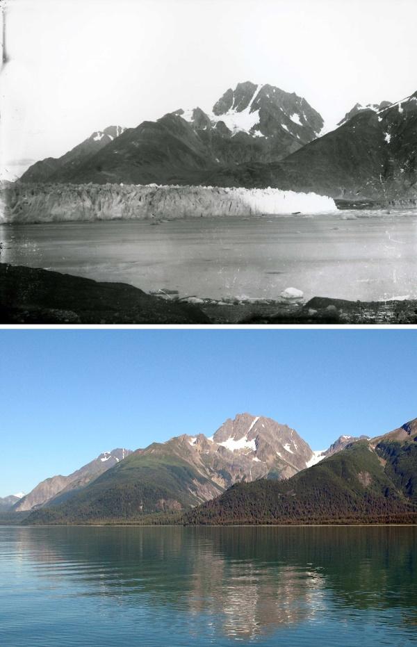 1. Muir Glacier 1892-2005