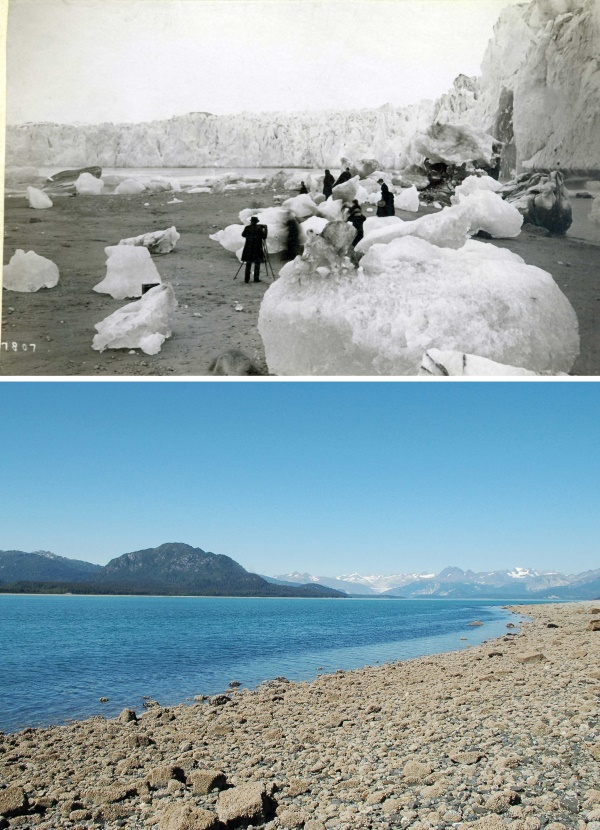 2. Muir Glacier 1880-2005