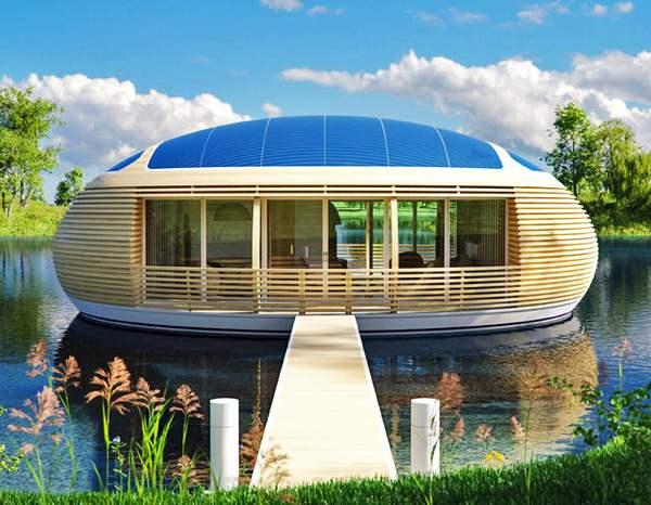 casa galleggiante ecologica 1
