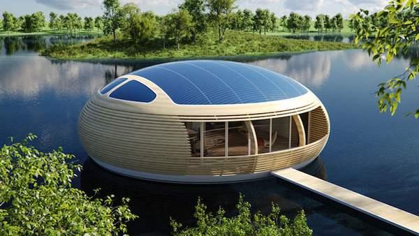 casa galleggiante ecologica 2