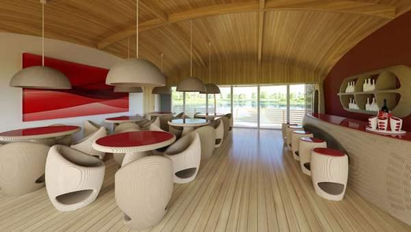 casa galleggiante ecologica 8