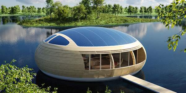casa galleggiante ecologica cover