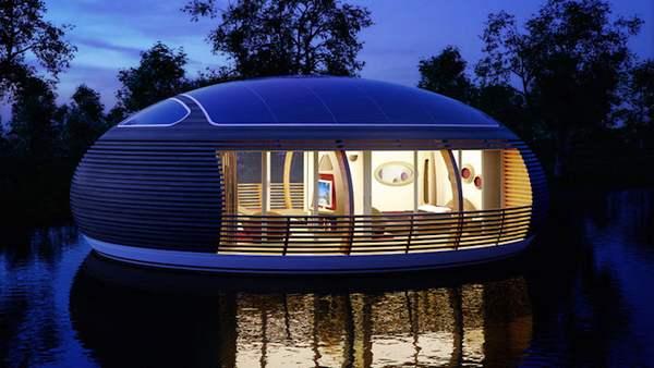 casa galleggiente ecologica 4