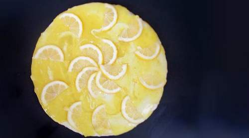 cheesecake al limone vegan