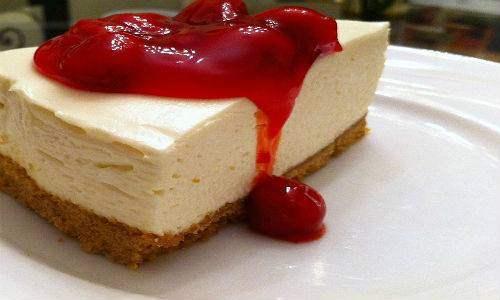 cheesecake vegan 2 fragole