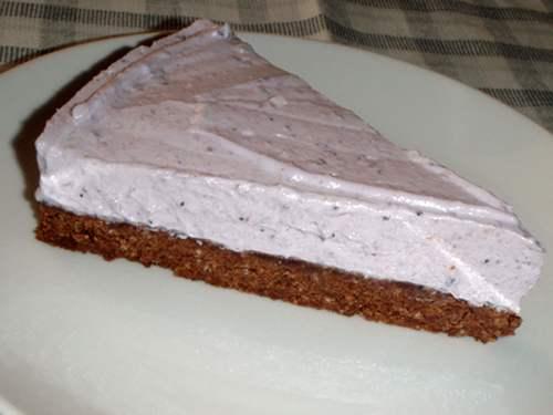 cheesecake vegan 6 mirtilli