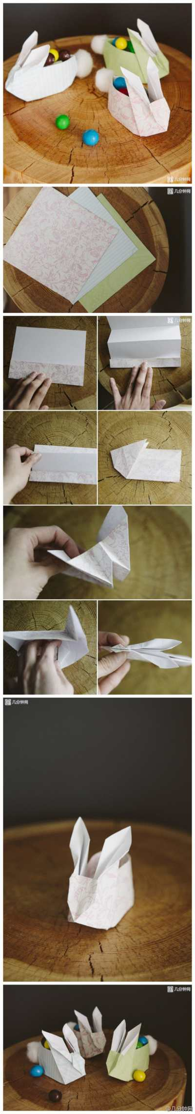 coniglietti 4 origami