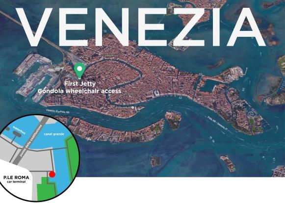 mappa gondola