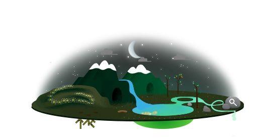 giornata terra notte
