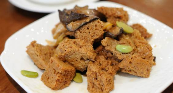 tofu salsa zafferano
