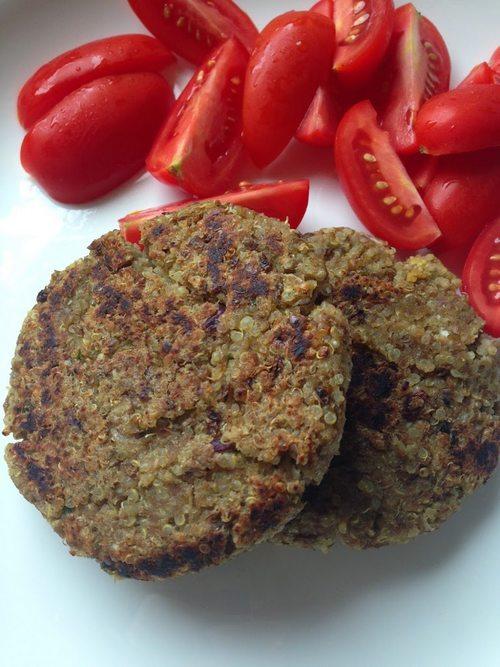 burger quinoa 3 zucchine