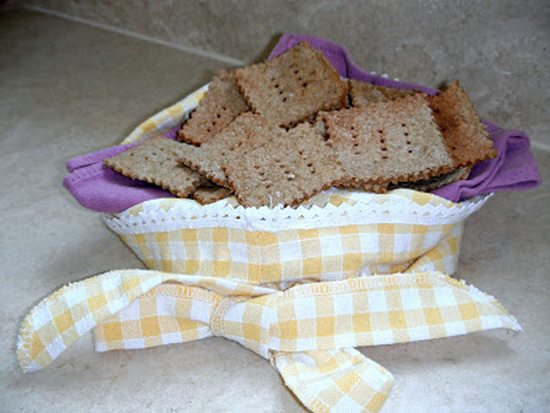 cracker fadina di segale
