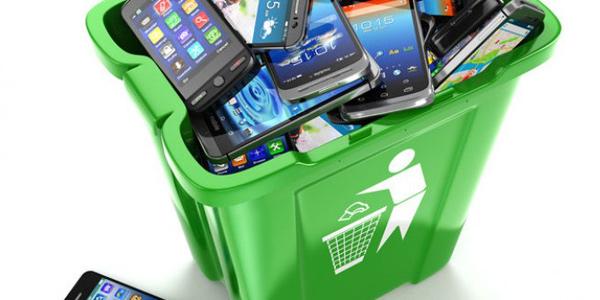 e waste smartphone