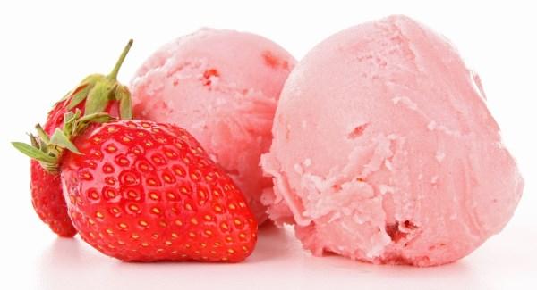 gelato fragole