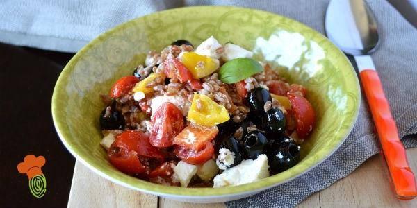 insalata di farro alla greca