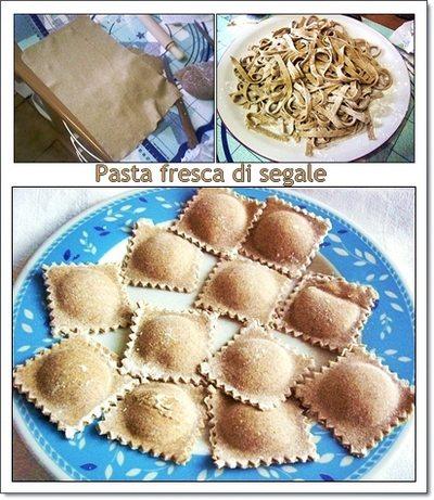 pasta fresca di segale