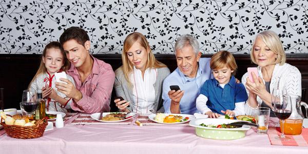 smartphone tavola