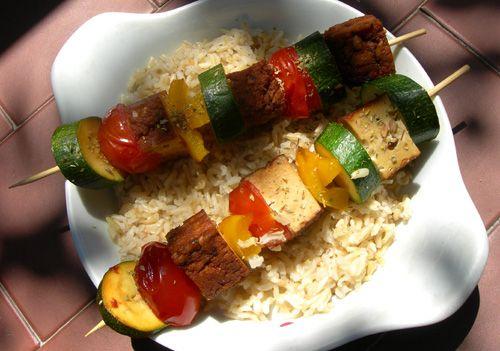 spiedini tofu