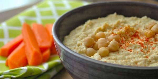 hummus di ceci ricette vegetariane